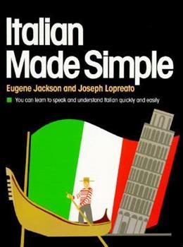 Italian (Made Simple Books) 0385007361 Book Cover