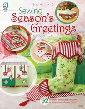 Paperback Sewing Season's Greetings Book
