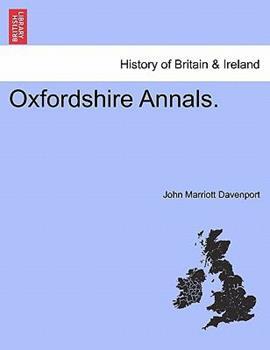 Paperback Oxfordshire Annals. Book