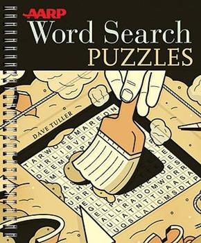 AARP Word Search Puzzles 1402766335 Book Cover