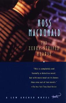 The Zebra-Striped Hearse 0375701451 Book Cover