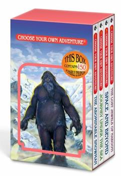 Paperback Choose Your Own Adventure 4-Book Set, Volume 1: The Abominable Snowman/Journey Under the Sea/Space and Beyond/The Lost Jewels of Nabooti Book
