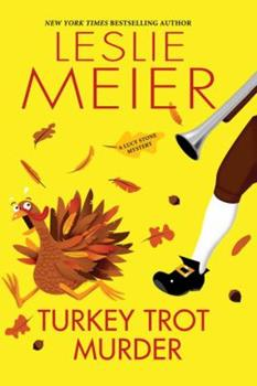 Hardcover Turkey Trot Murder Book