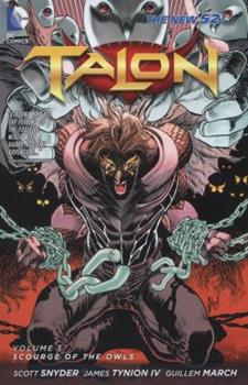 Paperback Talon, Vol. 1: Scourge of the Owls (The New 52) Book