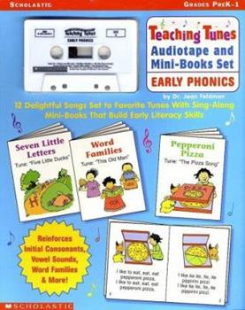 Early Phonics [With Cassette] 0439216168 Book Cover