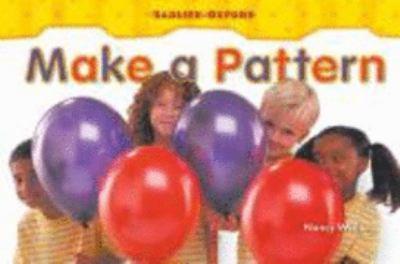 Paperback Make a Pattern  by: Nancy White  2003 Book