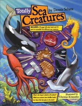 Paperback Totally Sea Creatures Book