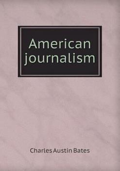Paperback American Journalism Book