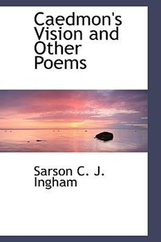 Paperback Caedmon's Vision and Other Poems Book