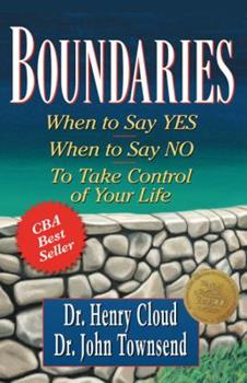 Paperback Boundaries: When to Say Yes, When to Say No, to Take Control of Your Life [Large Print] Book