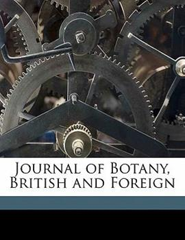 Paperback Journal of Botany, British and Foreign Book