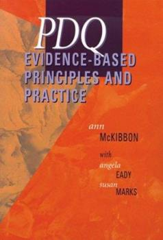 Pdq Evidence-Based Principles and Practice 1550091182 Book Cover