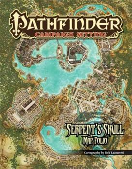 Pathfinder Campaign Setting: Serpent's Skull Poster Map Folio - Book  of the Serpent's Skull