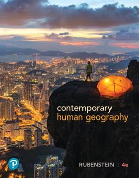 Contemporary Human Geography 0321590031 Book Cover