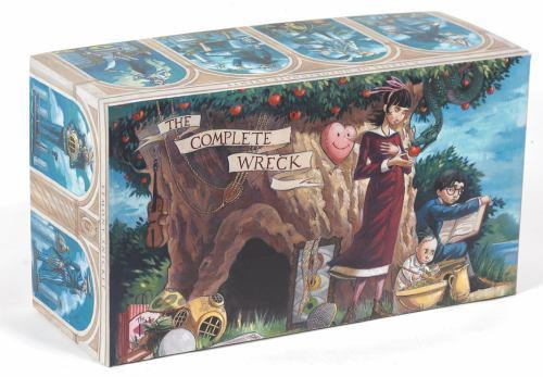 The Complete Wreck (A Series of Unfortunate Events, Books 1-13) - Book  of the A Series of Unfortunate Events