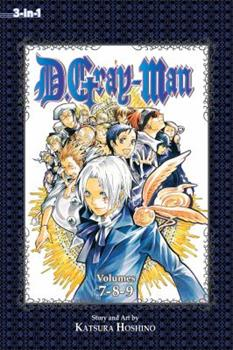D.Gray-man (3-in-1 Edition), Vol. 3: Includes Vols. 7, 8 & 9 - Book #3 of the D.Gray-Man Omnibus 3-in-1 Edition