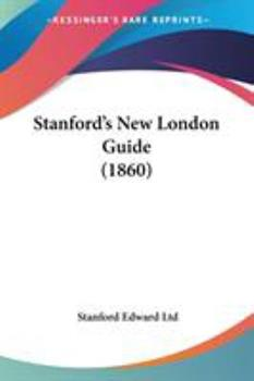 Paperback Stanford's New London Guide Book