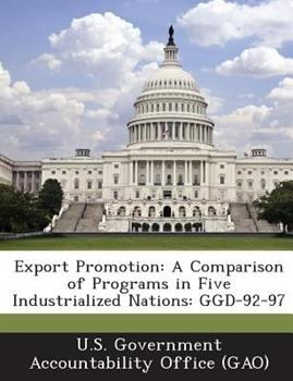 Paperback Export Promotion : A Comparison of Programs in Five Industrialized Nations Book