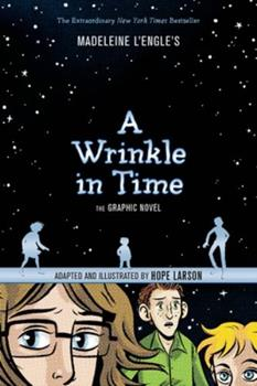 A Wrinkle in Time: The Graphic Novel 0374386153 Book Cover