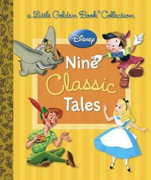 Nine Classic Tales - Book  of the Little Golden Books