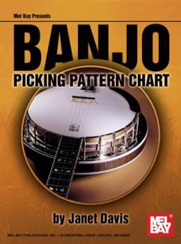 Banjo Picking Pattern Chart 0786681705 Book Cover