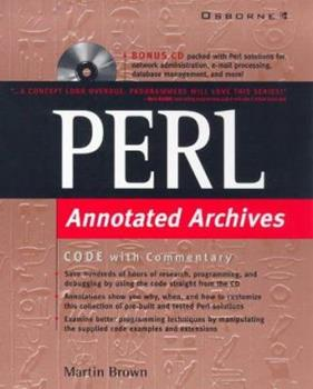 Perl: Annotated Archives 0078825571 Book Cover