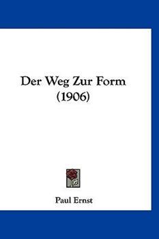 Hardcover Der Weg Zur Form Book