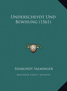 Hardcover Underscheydt und Bewisung Book