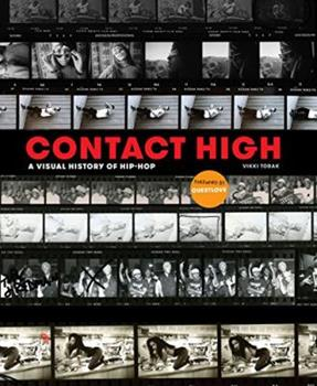 Hardcover Contact High: A Visual History of Hip-Hop Book