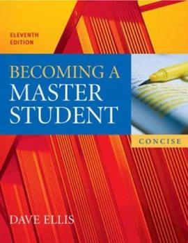 Paperback Becoming a Master Student Book