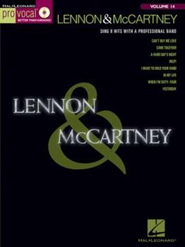 Lennon & McCartney: Pro Vocal Men's Edition Volume 14 0634099566 Book Cover