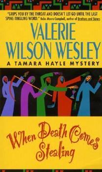 When Death Comes Stealing 038072491X Book Cover