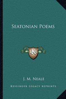 Paperback Seatonian Poems Book