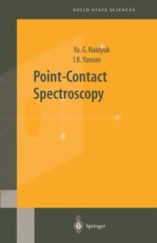 Hardcover Point-Contact Spectroscopy Book