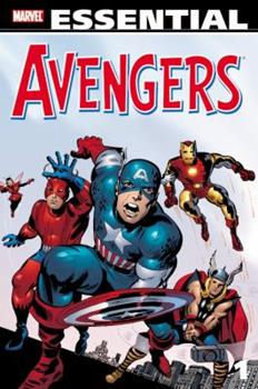 Essential Avengers, Vol. 1 (Marvel Essentials) - Book  of the Avengers 1963-1996 #278-285, Annual