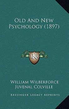 Hardcover Old and New Psychology Book