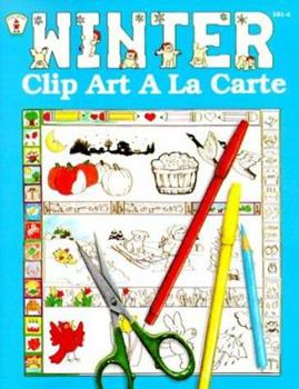 Paperback Winter Clip Art a la Carte Book