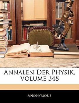 Paperback Annalen Der Physik, Volume 348 Book