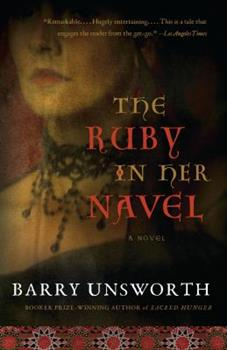 The Ruby in Her Navel: A Novel of Love and Intrigue in the 12th Century 0393330826 Book Cover
