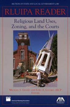 Paperback RLUIPA Reader: Religious Land Uses, Zoning and the Courts Book