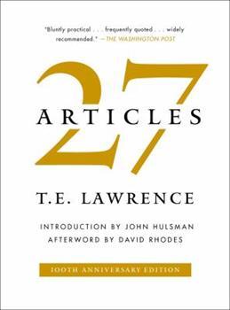 Twenty-Seven Articles 1501182005 Book Cover
