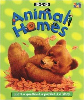 Animal Homes (Ladders) 1587286009 Book Cover