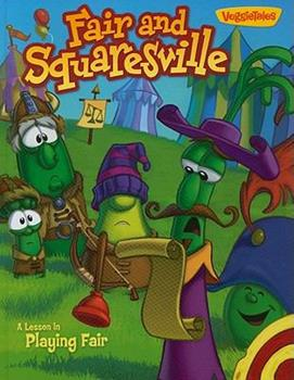 Hardcover Fair and Squaresville: A Lesson in Playing Fair (VeggieTales (Big Idea)) Book