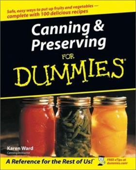 Paperback Canning and Preserving for Dummies? Book