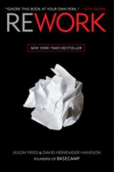 Hardcover Rework Book