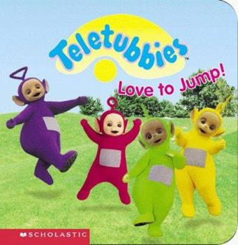 Love to Jump: Padded Mini Book (Teletubbies, 2) - Book  of the Teletubbies