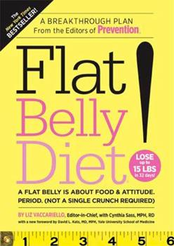 Paperback Flat Belly Diet! Book