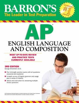 Paperback Barron's AP English Language and Composition, 4th Edition Book