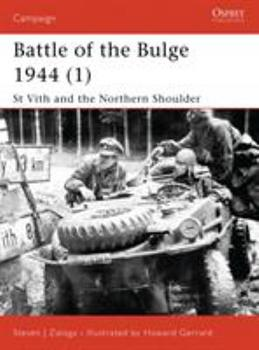 Battle of the Bulge 1944 (2): Bastogne (Campaign) - Book #115 of the Osprey Campaign