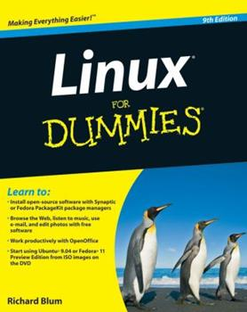 Linux for Dummies 0764507443 Book Cover